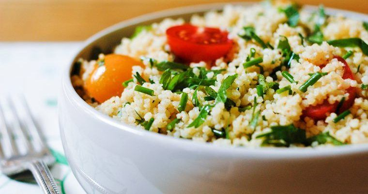 CAULIFLOWER TABBOULEH SALAD
