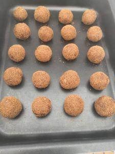 Coconut & Molasses cookies 1