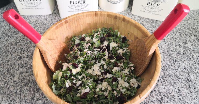 Kale Quinoa & Cranberry Salad