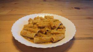 Butternut Squash & Mushroom Strogonoff