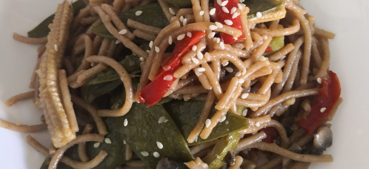 VEGETABLE LO-MEIN