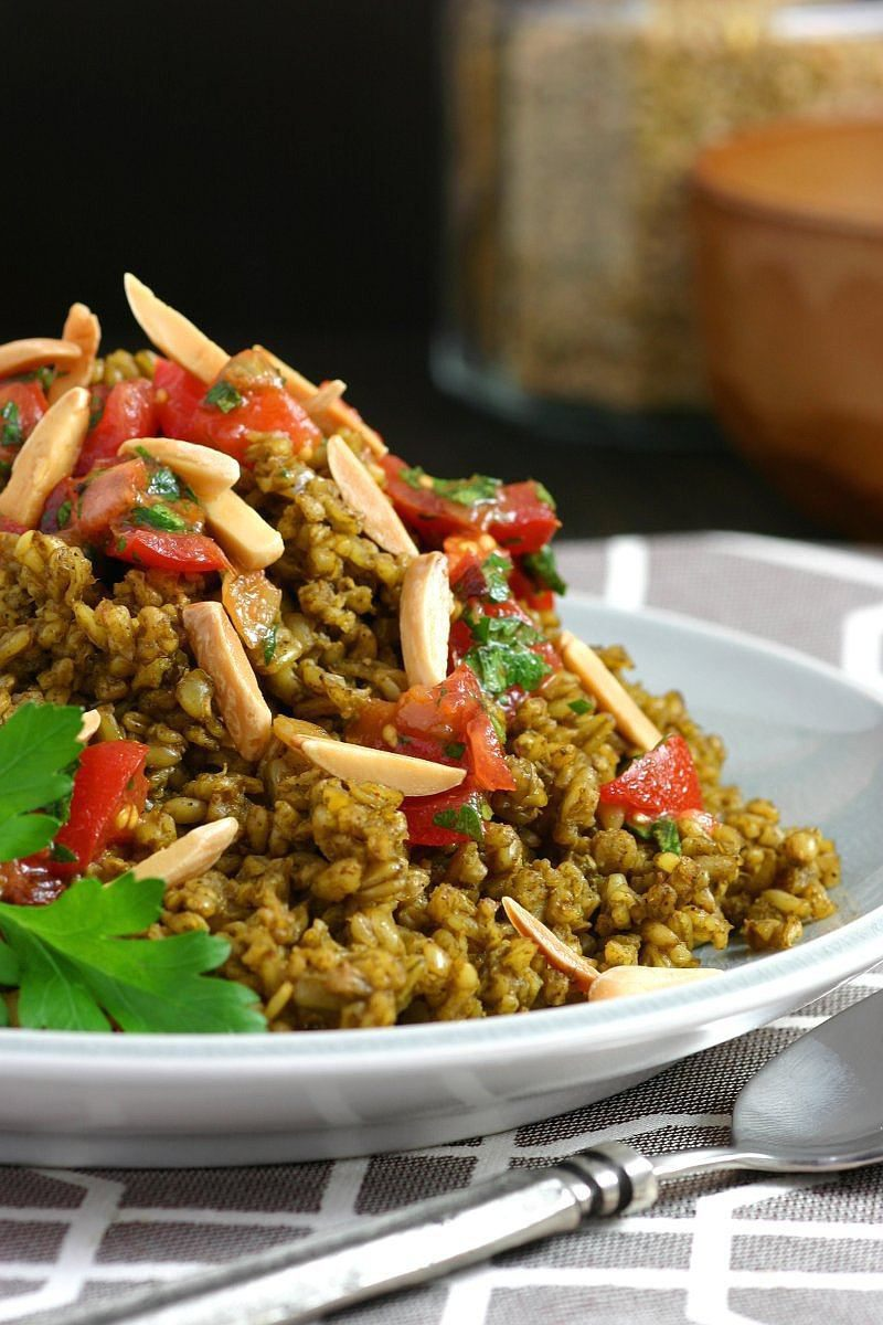 Herbed and Spiced Freekeh