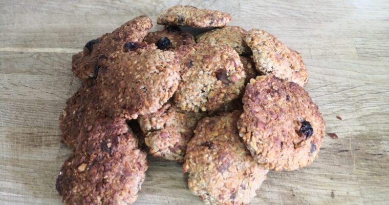OAT & ALMOND COOKIES