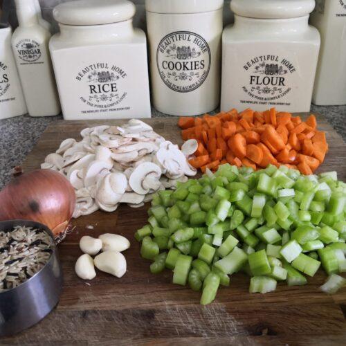 Wild Rice & Vegetable Soup