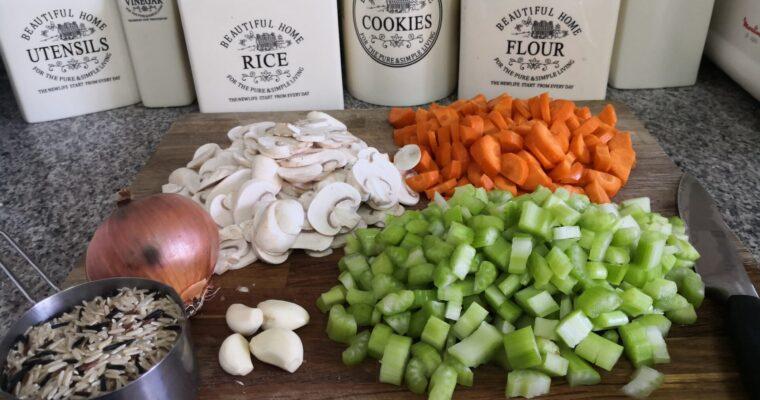 WILD RICE & VEGETABLE SOUP RECIPE