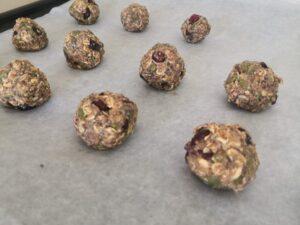 Oat Cookie balls